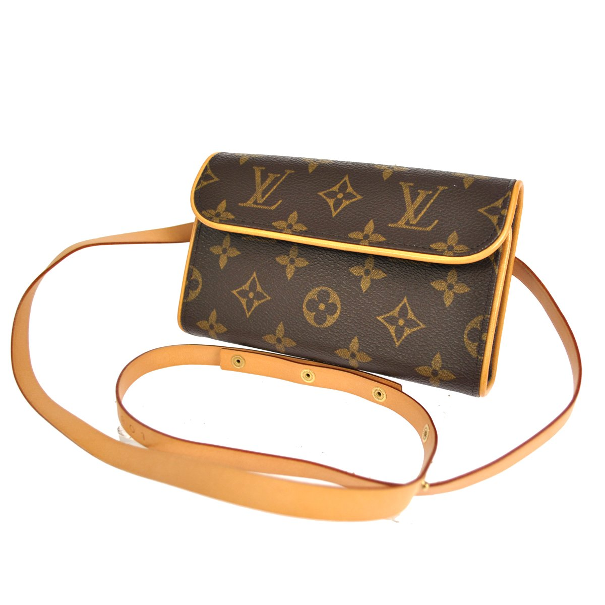 sold - authentic louis vuitton pochette florentine pouch bum  belt bag