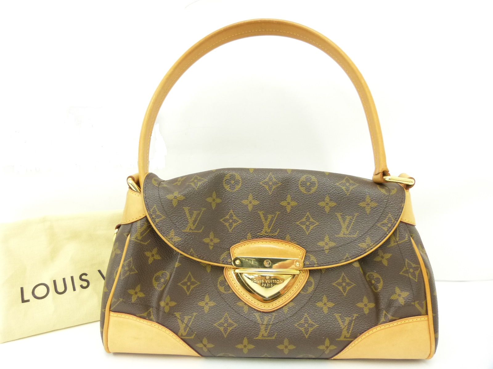 88d1f70cd186 LOUIS VUITTON Beverly Mm Monogram Canvas Shoulder Bag - My Frugal ...