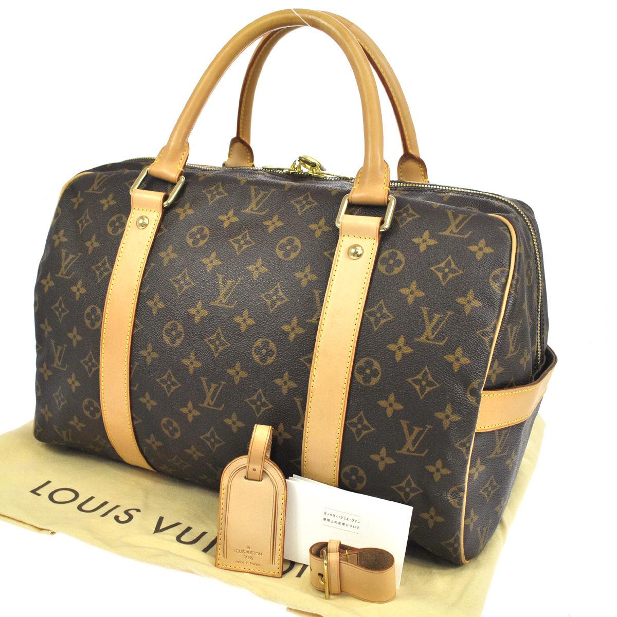 4e2b5029bbeda LOUIS VUITTON Monogram Canvas Carryall Weekend Travel Bag - My ...