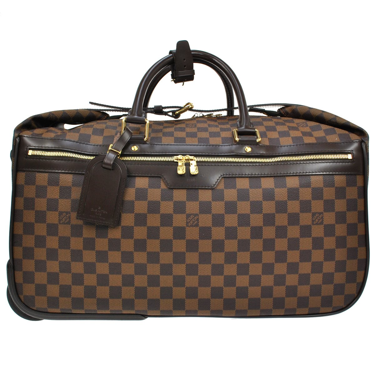 9e7571b6ad29 Home   Designer Brand   Louis Vuitton   Weekend Travel bag   Louis Vuitton  Damier Ebene Eole 50 Rolling Carry-on Suitcase Duffel